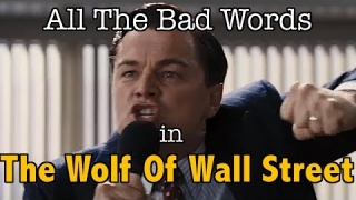 All The Bad Words In The Wolf Of Wall Street | Swearing World Record | Supercut